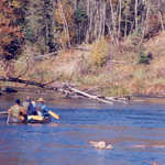 Canoeing on the Edge of the Wilderness Scenic Byway
