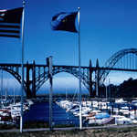 Yaquina Bay Bridge and the Newport Waterfront