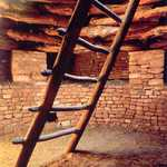 Kiva and Ladder at Three Kiva Pueblo
