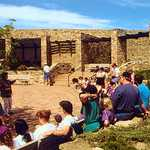 Anasazi Heritage Center Plaza Lecture