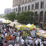 Crowds at TasteFest