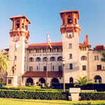 Lightner Museum on King St. in St. Augustine, FL