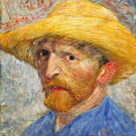 Close Up of Van Gogh Self-Portrait