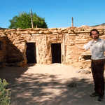 A Reconstructed Anasazi House
