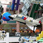 Huge Lego Spaceship in the Mall of America