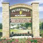 Peteetneet Academy and Museum Sign