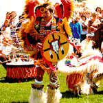 Elaborate Dance at the Festival of the American West