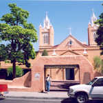 San Felipe de Neri Church in Old Town, Albuquerque, NM