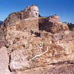 A Bird's-eye View of the Crazy Horse Monument