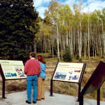 Interpretive Signs at Skyline Mine