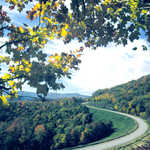 Autumn View of the Highland Scenic Highway
