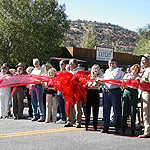 Byway Enthusiasts at Scenic Byway 12 Ribbon-Cutting