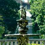 Cherub Fountain at Cranbrook
