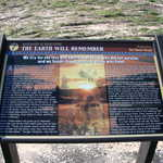 "Interpretive Sign at Bear River Massacre Site: ""The Earth will Remember"""