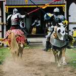 Jousting at the Sterling Renaissance Festival
