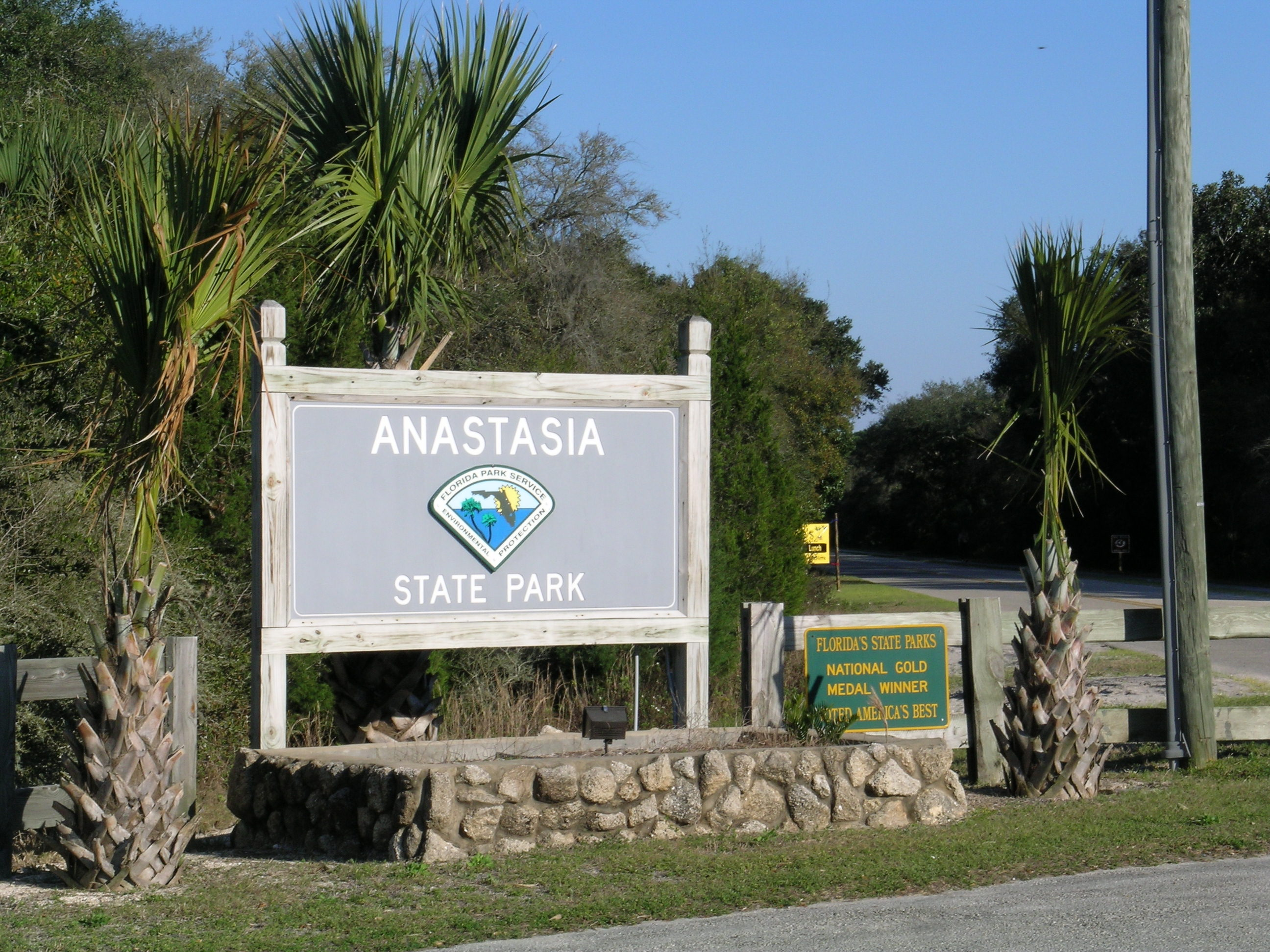 Image result for anastasia state park sign