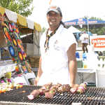 Grilling Up Shish Kabobs Along Woodward Avenue (M-1)