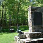 The Monument to Montcalm's Victory at Fort Ticonderoga