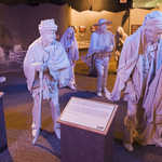 Trail of Tears Exhibit at the Cherokee National Museum