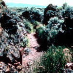 Captain Jack's Stronghold in Lava Beds National Monument
