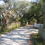 Ocracoke Village's Howard Street