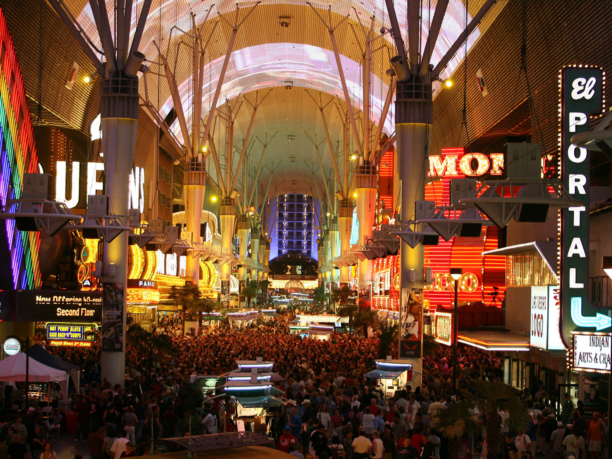 Photo 76125 Fremont Street Experience America S Byways