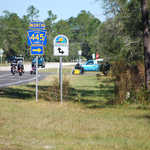 Florida Scenic Highway and Lake County Road 445 Signage