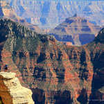 A View of the Grand Canyon from Bright Angel Point