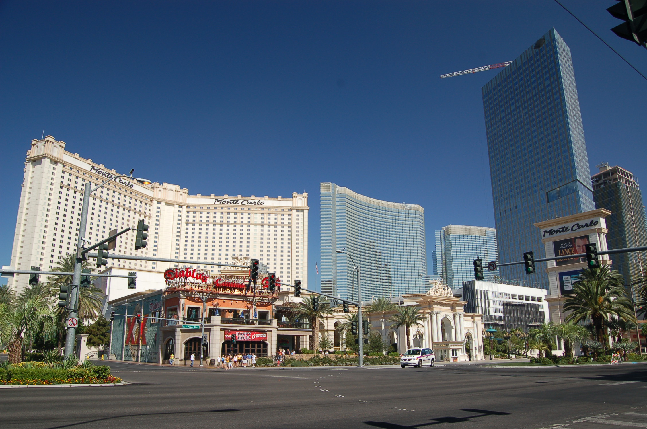 photo #80824: monte carlo resort and diablo's on the las vegas