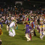 Colorful Costumes of the Cherokee National Holiday Powwow