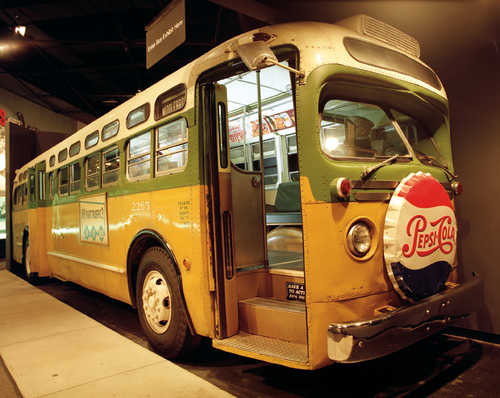 Photo #81240: The Montgomery Bus Where Rosa Parks Sat ...