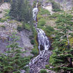 Vidae Falls in Crater Lake National Park