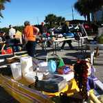 Community Yard Sale on Florida's A1A