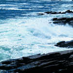 Thunder Hole Waves