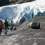 Experiencing a Glacier Up-Close