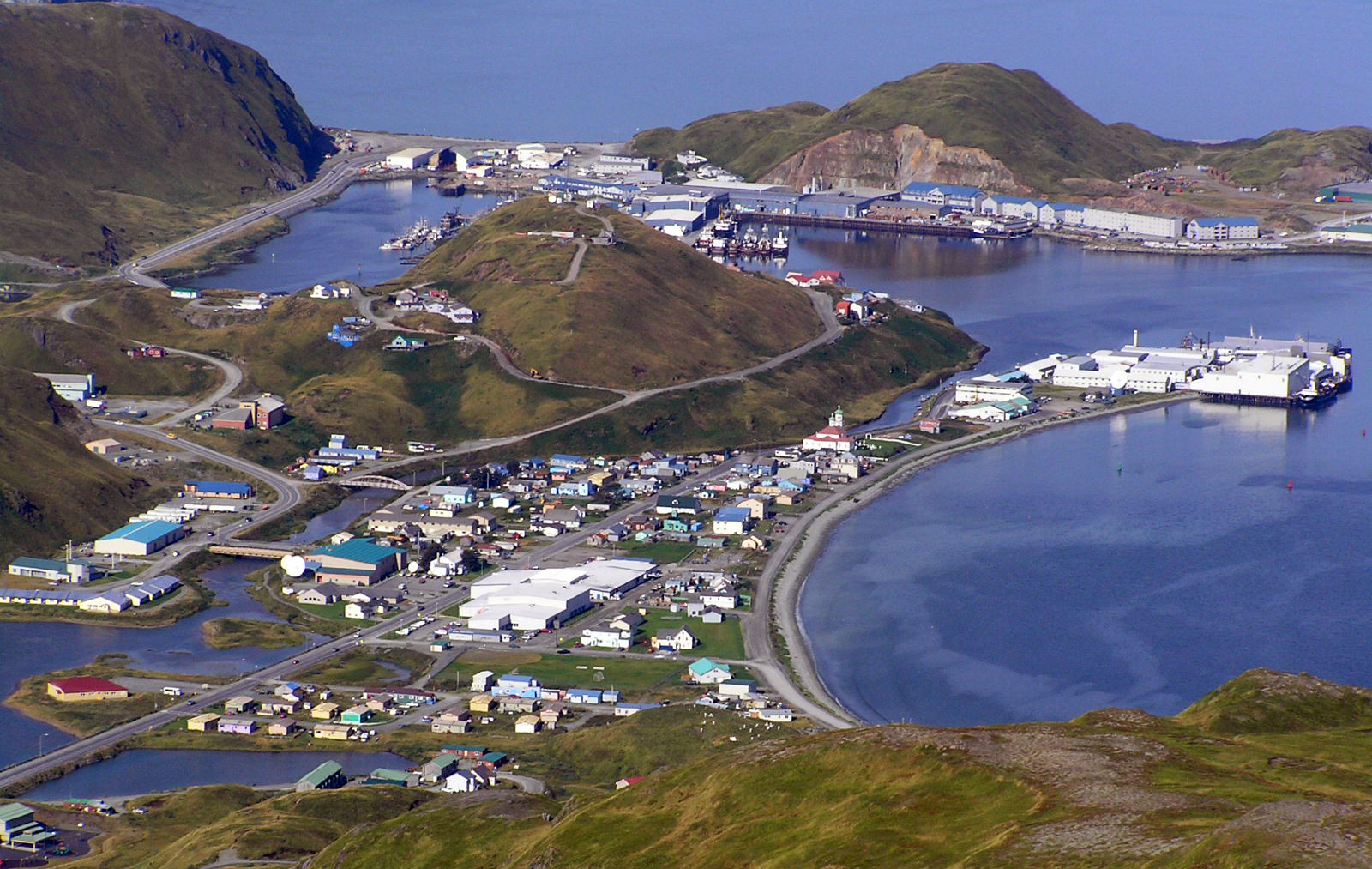 Photo #81804: City of Unalaska | America\'s Bywaysunalaska city