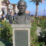 Bust of John Steinbeck in Monterey