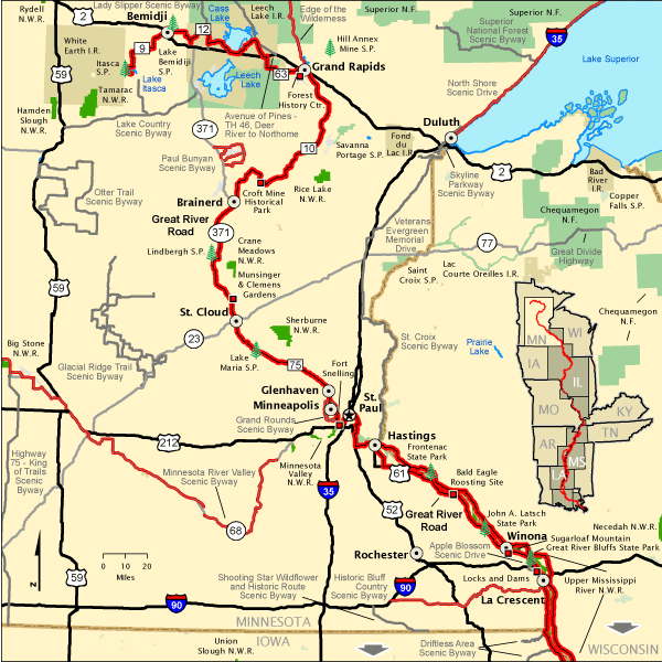 Great River Road - Great River Road in Minnesota | America\'s Byways