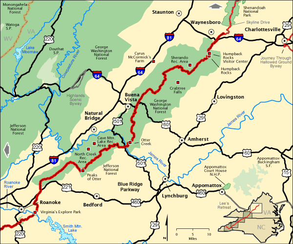 Blue Ridge Parkway - VA Northern Section | America\'s Byways
