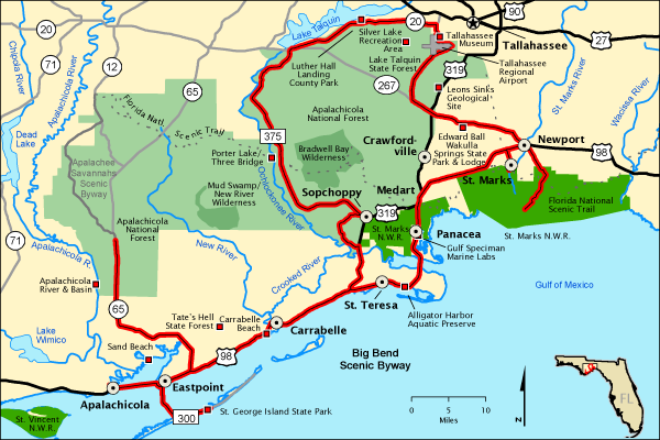 Big Bend Scenic Byway Map Americas Byways