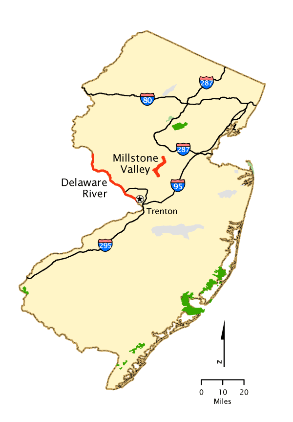 New Jersey - Map   America\'s Byways