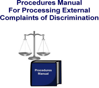 Procedures Manual For Processing External Complaints Of