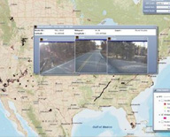 screen grab of FLMA Geospatial Transportation Decision Support Tool