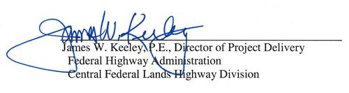 James W. Keeley, P.E., Director of Project Delivery
