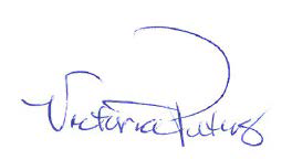 Signature: Victoria Peters