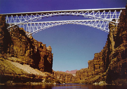 Navajo Bridge Over Grand Canyon 1996 Awards Excellence