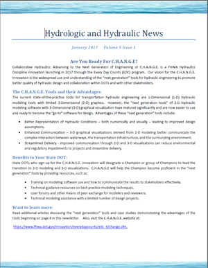 NHT Hydraulic Newsletter - Hydraulics - Bridges & Structures