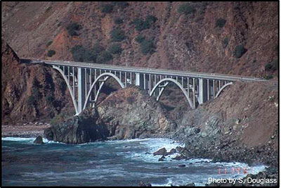 Figure 2.2. Bridge on the Pacific Coast Highway (California Route 1)