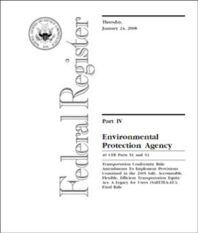 Cover of Federal Register