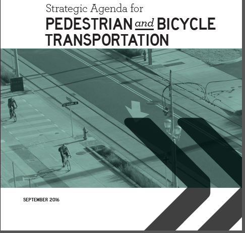 Strategic Agenda for Pedestrian and Bicycle Transportation